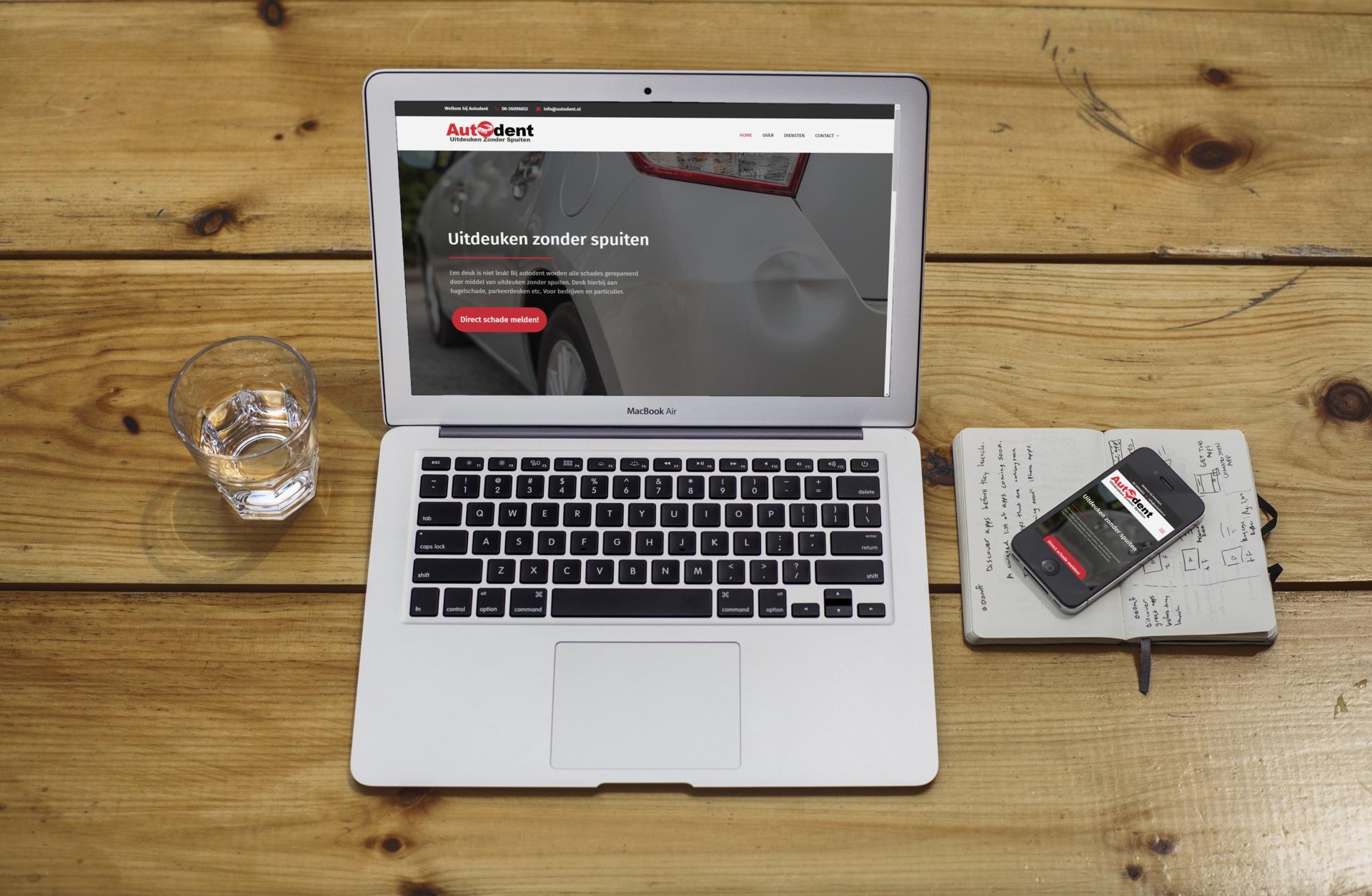 Website voor Autodent