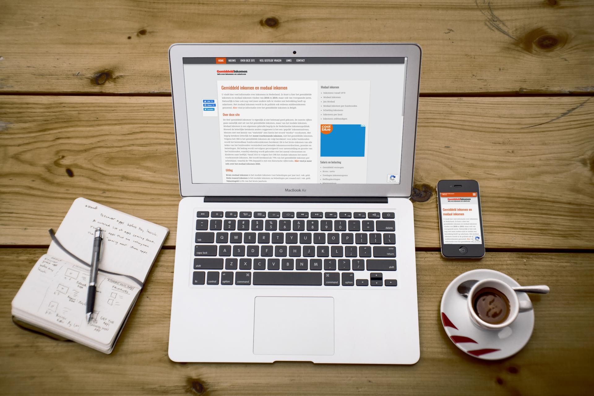 Informatieve website van Kau Online over financiën