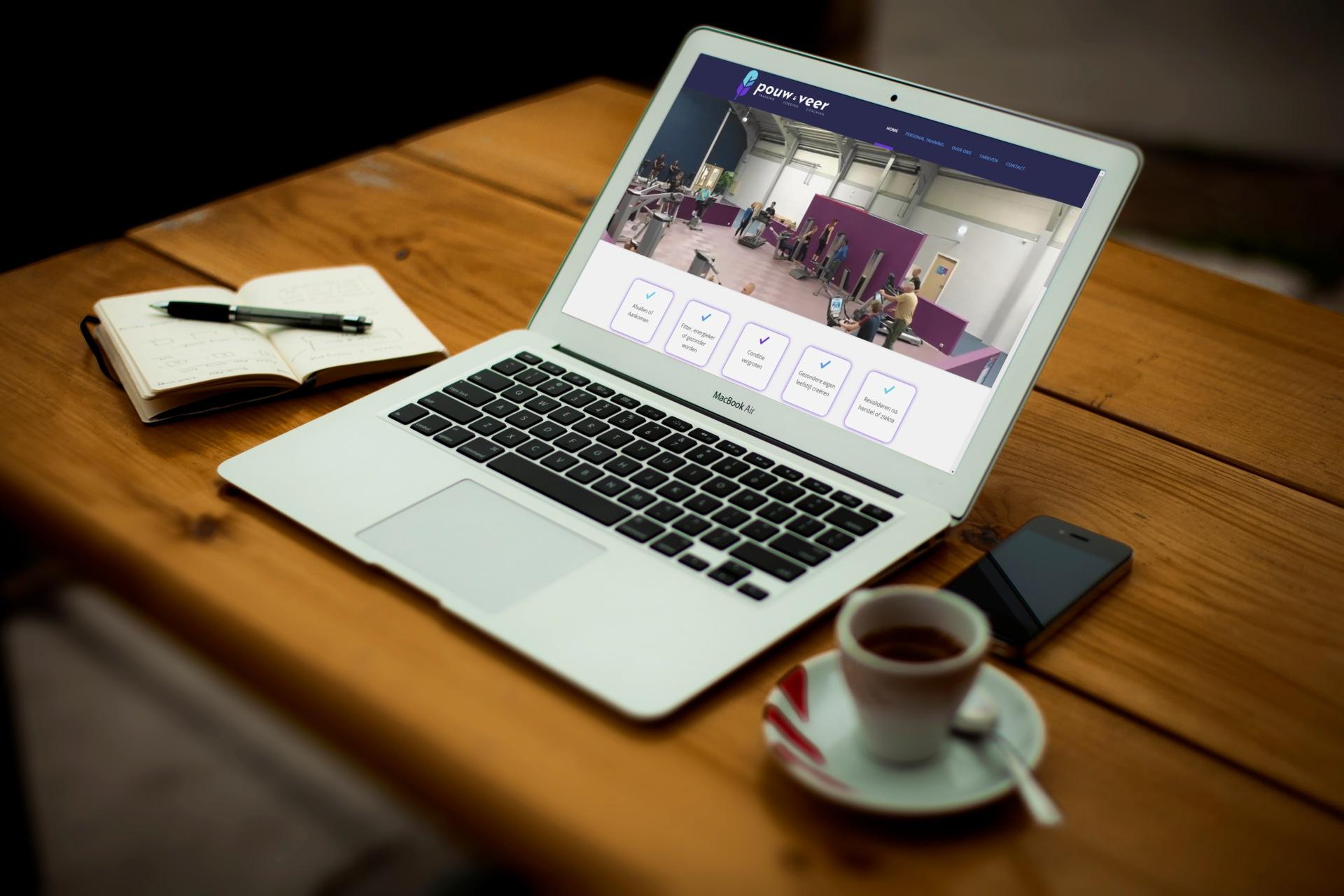 Website voor Pouw & Veer PT